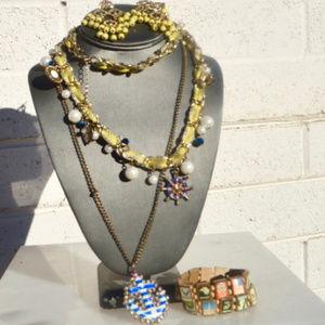 💋3 for $20 Bundle Navy Naval Americana Bracelets